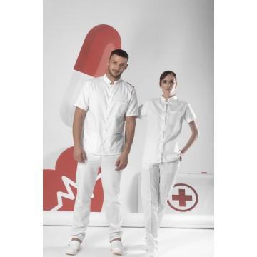 Медицинска униформа со руска јака
